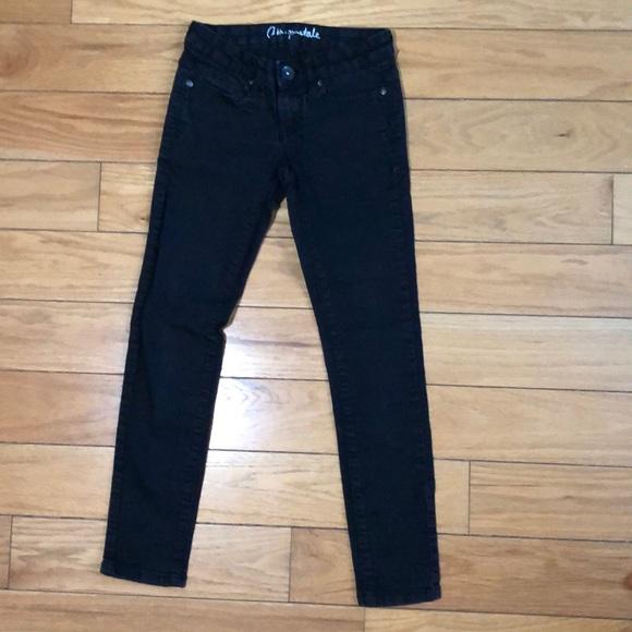 Aeropostale Denim - Black Aeropostale Lola Jegging Size 000 Short